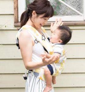 日本人の赤ちゃんの体型に合わせた抱っこ紐