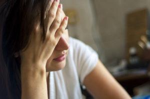妊活中にストレスを感じる女性